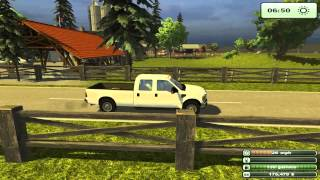 Farmning Simulator 2013 Texas Edition-Test Mod Ford F350