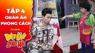 """Biệt đội siêu hài   Tập 4 - Tiểu phẩm: Lê Giang, Anh Tuấn """"học đòi"""" mở quá """"hủ tiếu chửi"""""""