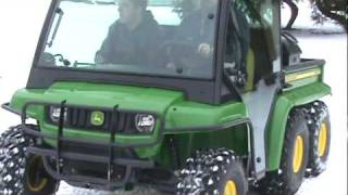 "John Deere Gator TH 6x4 Diesel ""WINTER VIDEO"""