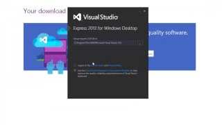 How To Install Visual Studio Express 2013 For Windows