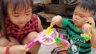 Trò Chơi Tìm Đồ Chơi Bánh Kem Con Chuột ❤ ChiChi ToysReview TV ❤ Đồ Chơi Trẻ Em Baby Finding Toys