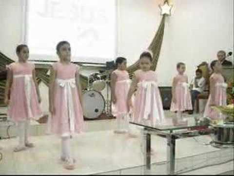 Ministério de Coreografia Infantil da PIB Sousa