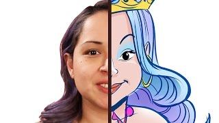 Women Get Drawn As Disney-Inspired Princesses