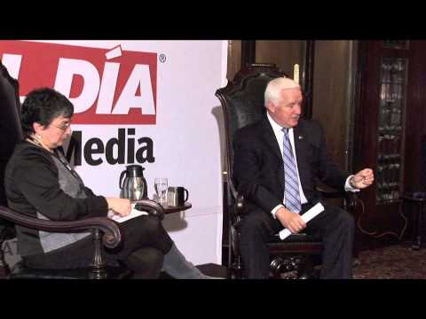 Governor Tom Corbett on the impact of Latinos