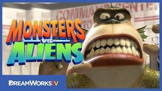 The BEST Monster Costumes MONSTERS VS. ALIENS