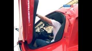 Максиим Трусов - Marussia тест-драйв