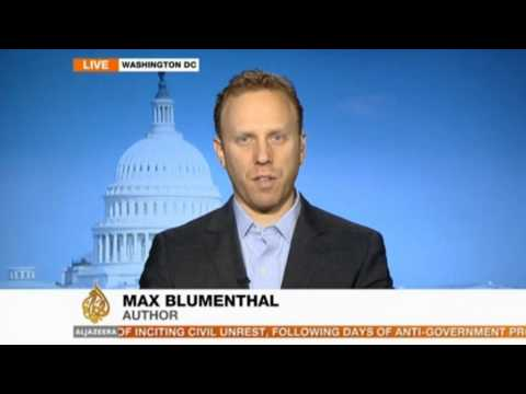 African refugees protest in Israel / Max Blumenthal interview