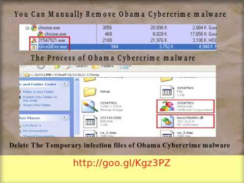 Obama Cybercrime malware : How to delete Obama Cybercrime malware from Windows PC