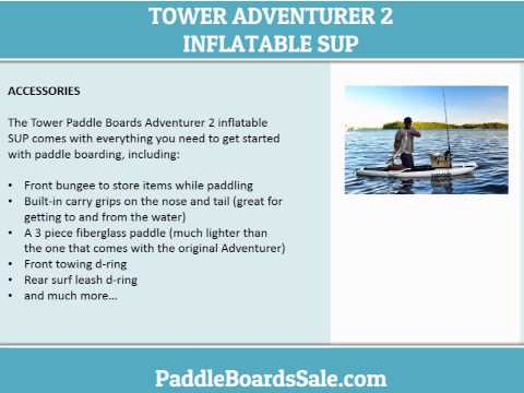 The Tower Paddle Boards Adventurer 2 inflatable SUP video review