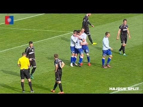 Poljud: Hajduk II - Hrvace 6:1