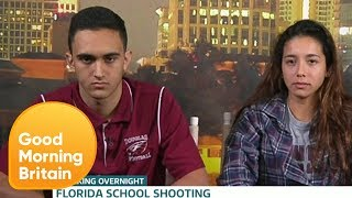 Classmates of Florida Shooter Say They Suspected Him | Good Morning Britain