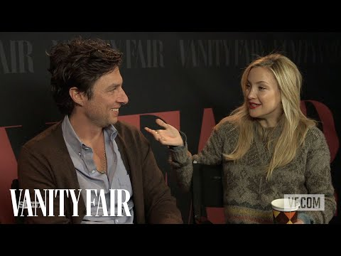 Zach Braff and Kate Hudson on