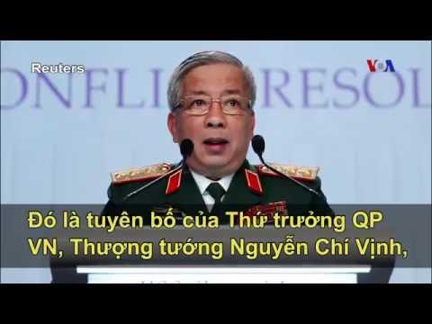 Việt Nam ủng hộ Mỹ 'can dự' vào Biển Đông