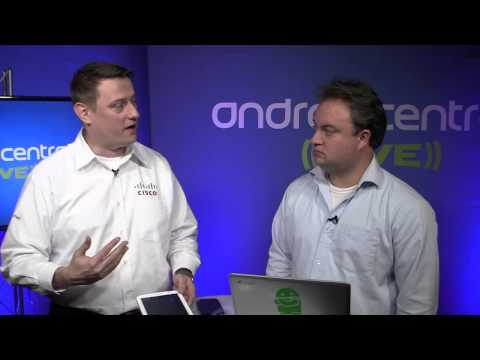 Android Central @ SDC13: Mike Mass, Cisco engineer, demos new software for telecommunications