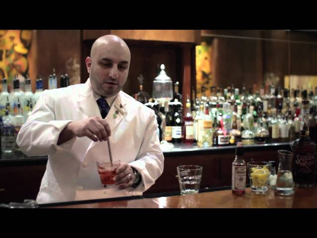 How To Make A New Orleans Sazerac Cocktail