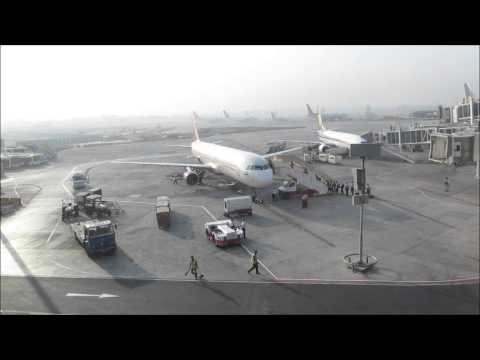Air India Airbus A321 VT-PPW Boarding
