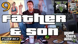 GTA V Father and Son Mission EP9 Part 9 Let's Play Walkthrough HD 1080p