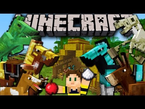 Minecraft 1.6 Snapshot: Horses, Donkeys, Undead, Carpet, Mob Leash, Hay, Saddle, Armor 13w16a