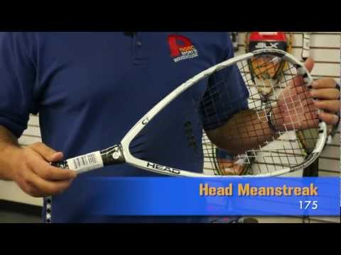 Head Meanstreak 175 Racquetball Racquet Review