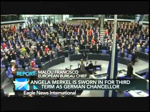 Merkel is sworn in for third term as German Chancellor