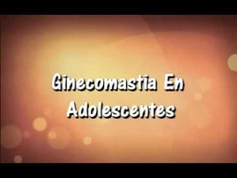 Ginecomastia en adolescentes