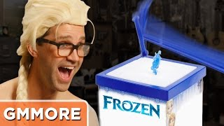Playing Don't Break the Ice! - Frozen Edition