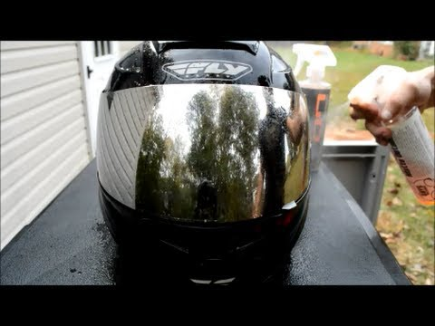 How to Clean & Protect a Matte Black / Flat Black Motorcycle Helmet + Visor - SON1C Synopsis 56