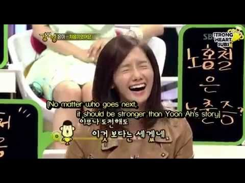 Yoona cut on Strong Heart - Story & Seunggi moments (eng)