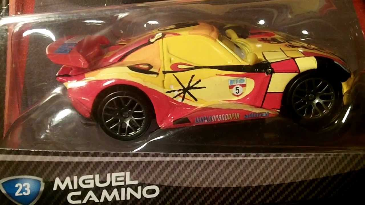 Disney pixar cars 2 miguel camino by mattel youtube - Coloriage cars 2 miguel camino ...