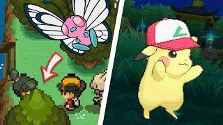 All Pokémon Anime References in Pokémon Games (1996 - 2018)