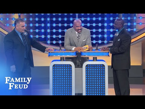 We WON'T answer!!! | Family Feud