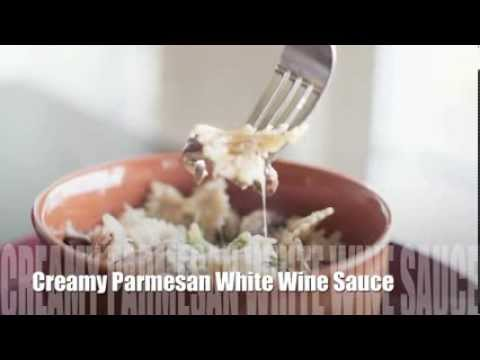 HEALTHY Parmesan White Wine Cream Sauce Recipe