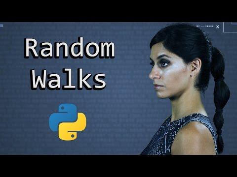A Random Walk & Monte Carlo Simulation - Learn Python Programming  (Computer Science)