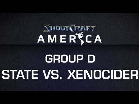 ShoutCraft America - Group D - Xenocider vs. State BO3