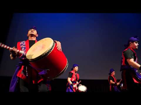 Okinawan Eisa Drum Dance @ Day Of Remembrance 2014