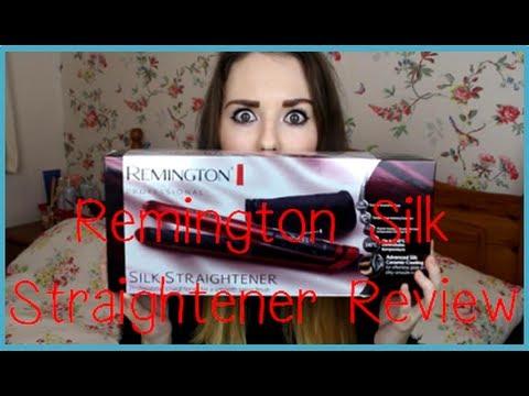 Reminton Silk Straightener Review