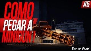 GTA V: Como Pegar A MINIGUN! Invadindo A Torre Do Fort