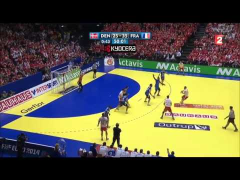 Handball : la France championne d'Europe 2014 contre le Danemark (41-32)