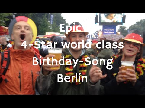 Epic 4-Star Birthday Song, Berlin