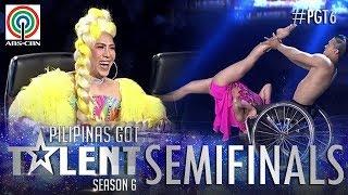 Pilipinas Got Talent 2018 Semifinals: Julius and Rhea- Wheelchair Dance