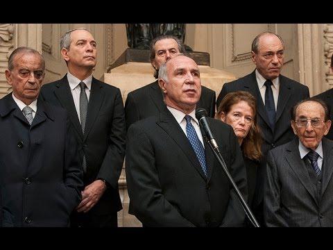 Acto en homenaje a Carmen Argibay realizado en el Palacio de Tribunales