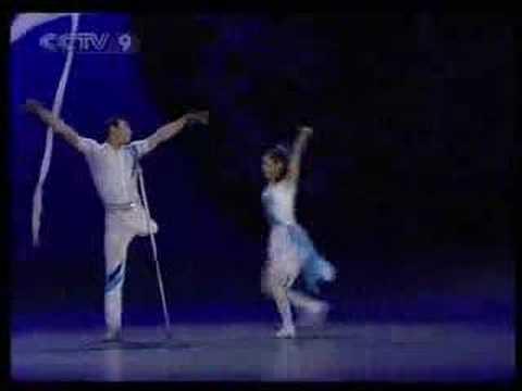 Bailarines chinos sin...