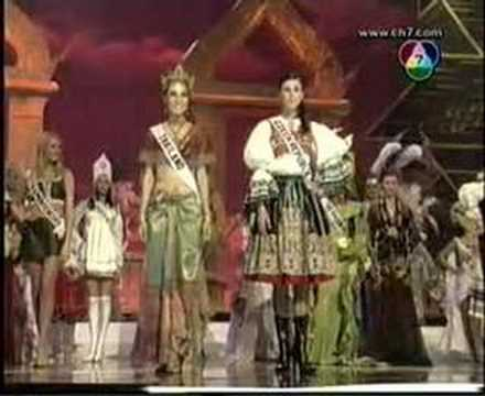Miss Universe 2005 National Costume_11 - YouTube