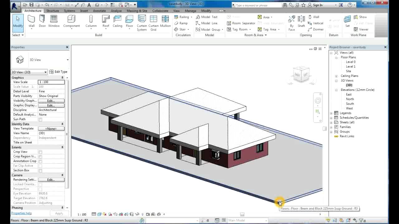 Revit Tutorial Revit Architecture 2014 Tutorial For
