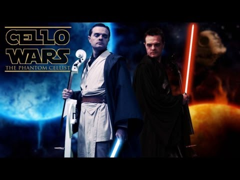 Cello Wars (Star Wars Parody) Light Saber Duel - Steven Sharp Nelson
