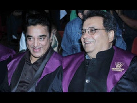 Kamal Haasan at Whistling Woods International's 7th Annual Convacation | Subhash Ghai