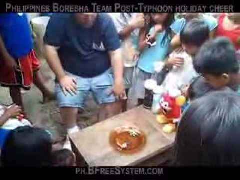 Boresha Philippines distributor brings holiday cheer to post-typhoon-yolanda Philippines
