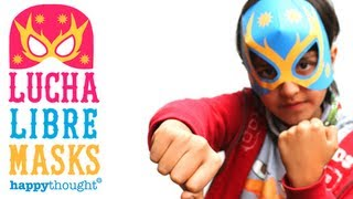 How To Make A Lucha Libre Mask Tutorial + Free Printable