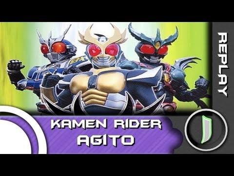 Relembre sua infância: Kamen Rider Agito (PSone)