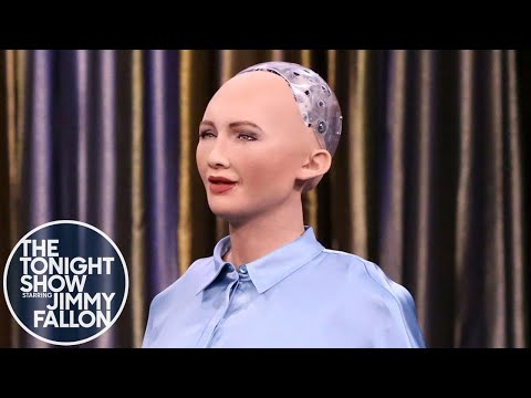 Tonight Showbotics: Snakebot, Sophia, eMotion Butterflies
